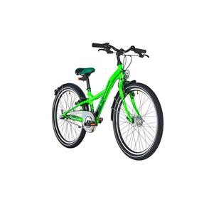 s'cool XXlite 24 3-S Juniorcykel Barn steel grön